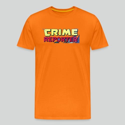 Crime Reporter - T-shirt Premium Homme