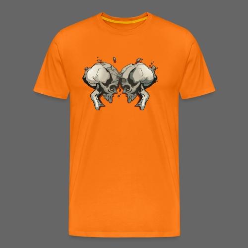 MHF_Logo_Loose-Skulls - Men's Premium T-Shirt