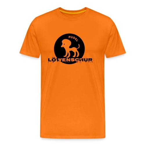 Pudel Löwenschur Cap - Männer Premium T-Shirt
