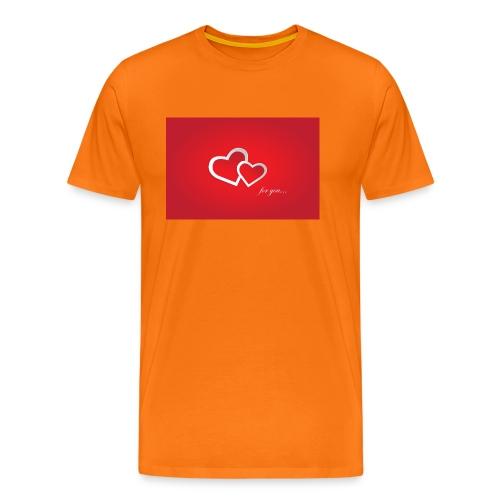 for you - Männer Premium T-Shirt