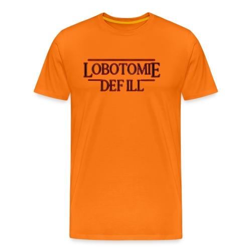 Lobotomie Def Ill - Stranger 80s Edition - Männer Premium T-Shirt
