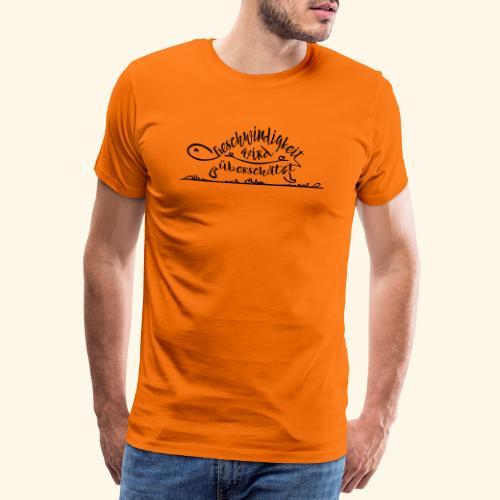 Mein Tempo - Schildkröte - Männer Premium T-Shirt