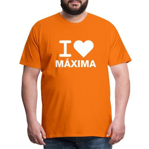 I LOVE MAXIMA - Mannen Premium T-shirt