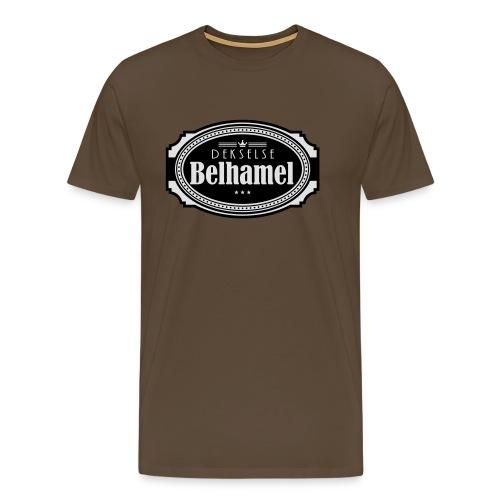 Dekselse belhamel - Mannen Premium T-shirt