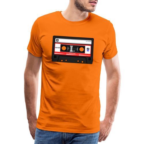 Compact Cassette Tape denola - Männer Premium T-Shirt