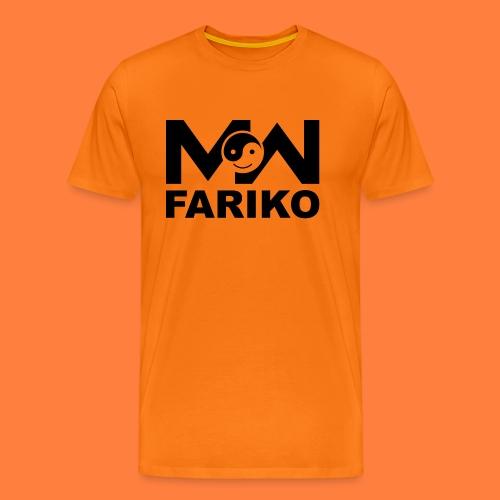 fariko mw black - Mannen Premium T-shirt