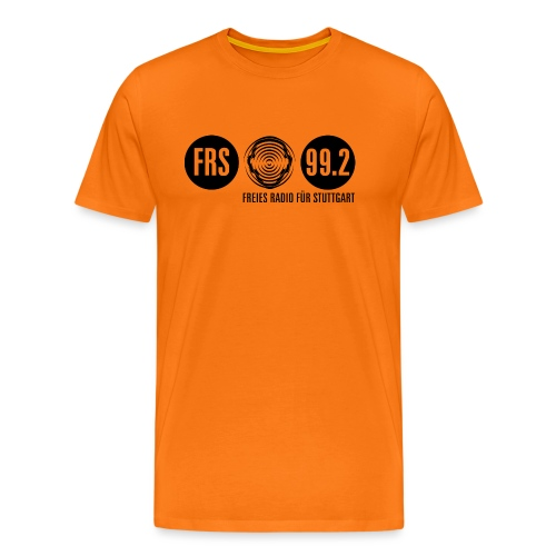 Logo FRS schwarz - Männer Premium T-Shirt