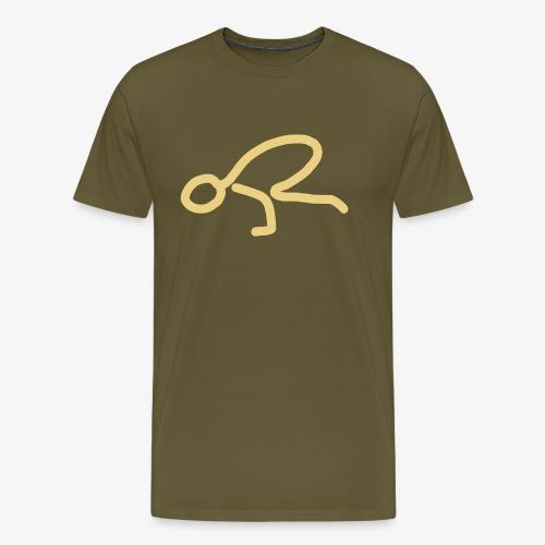 iYpsilon Yoga Krähe - Männer Premium T-Shirt