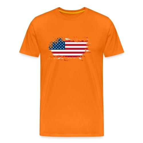America - Mannen Premium T-shirt