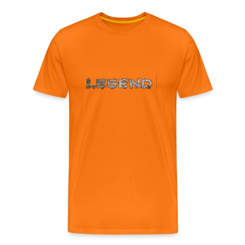 LEGENDtextediting3 - Mannen Premium T-shirt