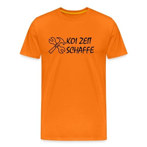 KoiZeit - Schaffe - Männer Premium T-Shirt
