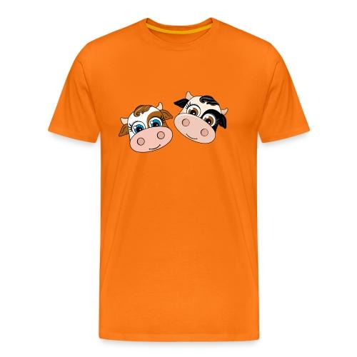 Dos Vaquitas - Camiseta premium hombre