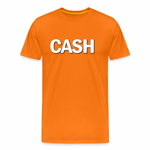CASH png - Herre premium T-shirt