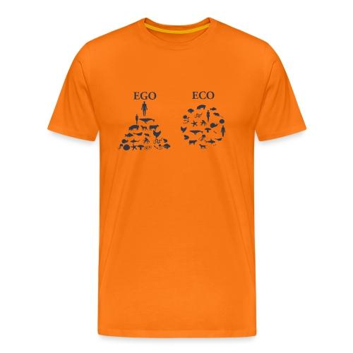 Ego VS Eco - Maglietta Premium da uomo