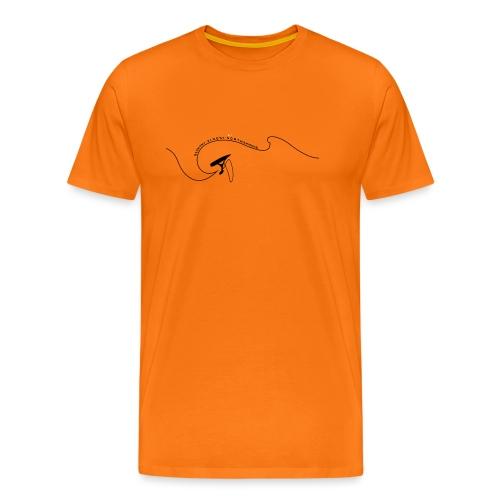 surferwelle - Männer Premium T-Shirt