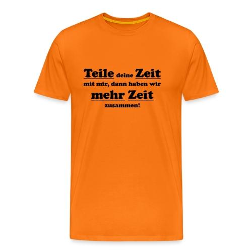TeileZeit - Männer Premium T-Shirt