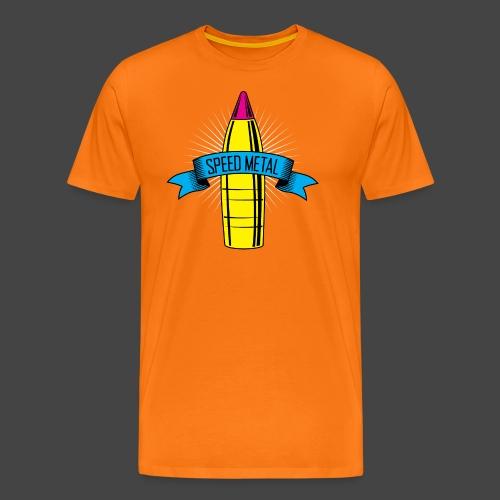 speedmetal cmyk - Männer Premium T-Shirt