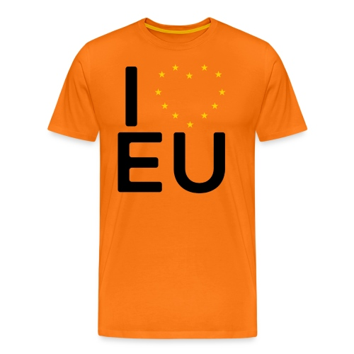 I ❤️ EU - Women's Tee - Men's Premium T-Shirt