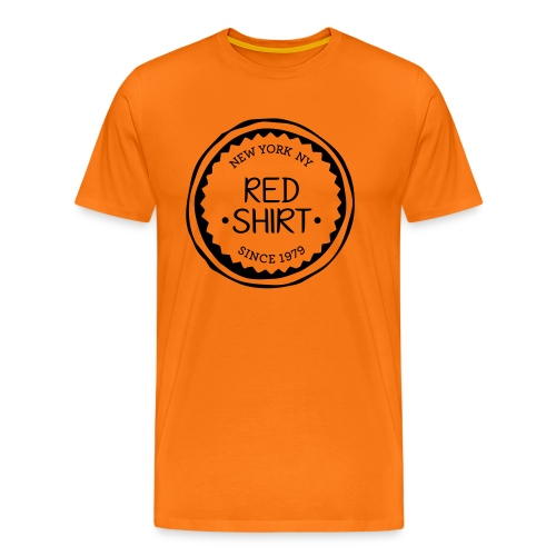 red shirt - Mannen Premium T-shirt