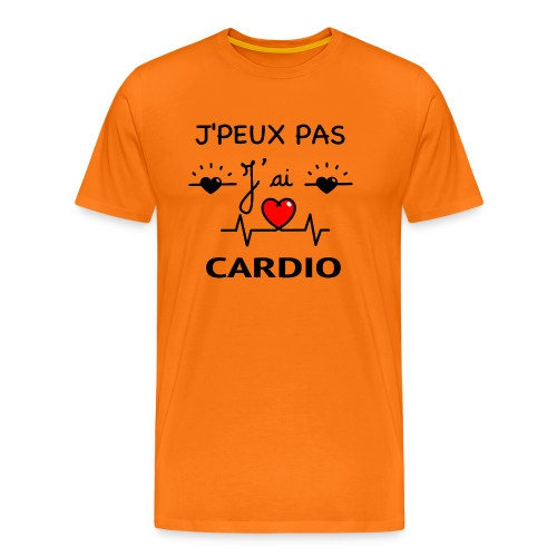 J'PEUX PAS J'AI CARDIO - T-shirt Premium Homme