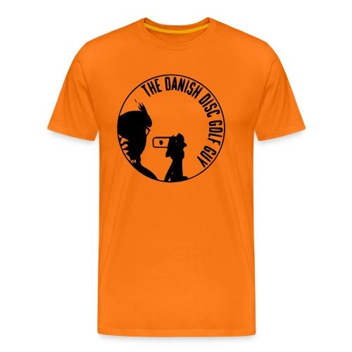 The Danish Disc Golf Guy Logo - Men's Premium T-Shirt