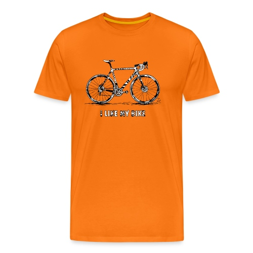 CycloCross I LIKE MY BIKE - Männer Premium T-Shirt