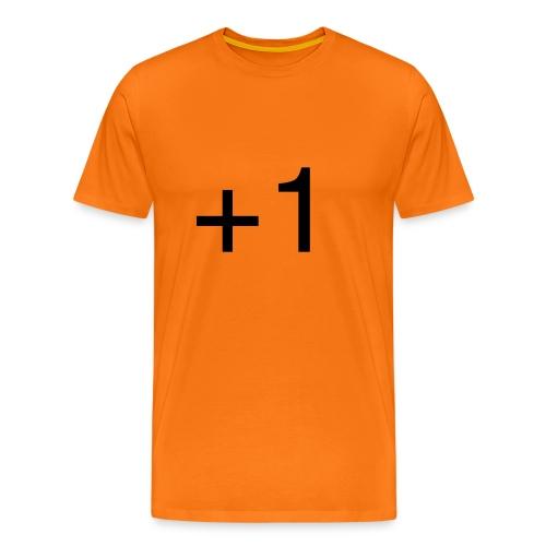 +1 - Mannen Premium T-shirt