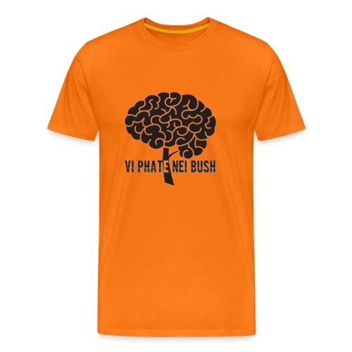 vi phate nei bush - logo - Maglietta Premium da uomo