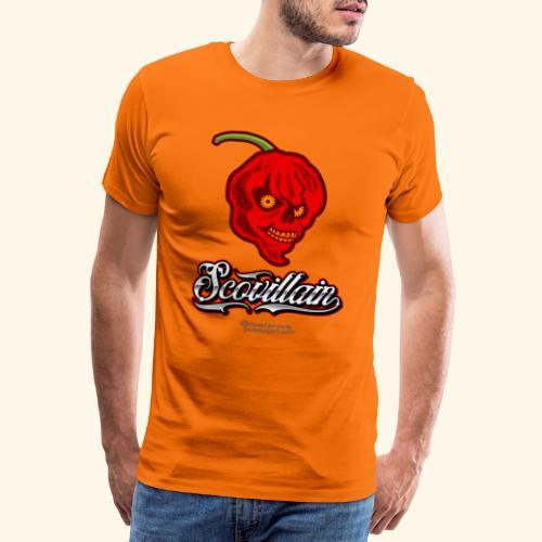 Chili Chilischote Chilihead Scovillain - Männer Premium T-Shirt