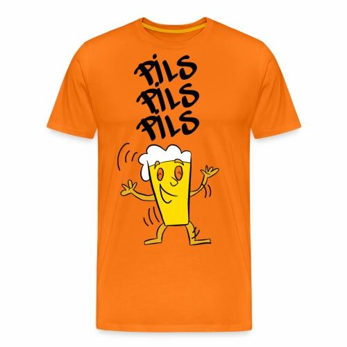 Pils pils pils - Mannen Premium T-shirt