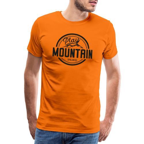 Play Mountain Black Edition - Männer Premium T-Shirt