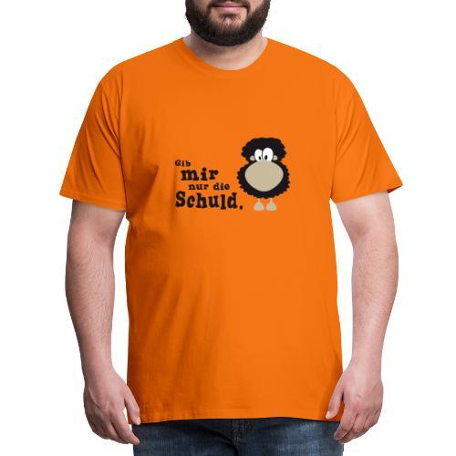 Gib mir nur die Schuld - Männer Premium T-Shirt
