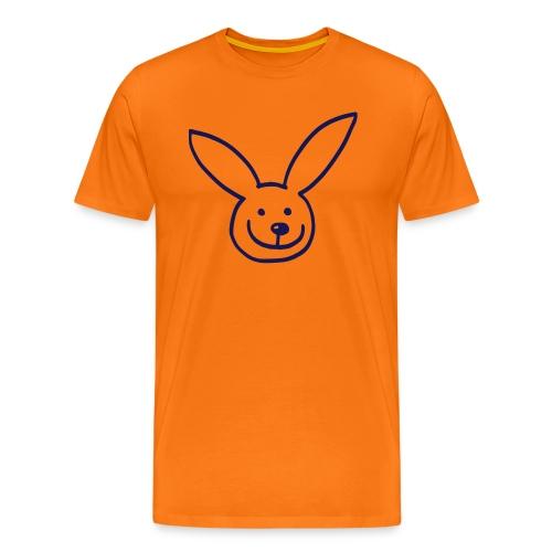 Hasi, niedliches Häschen - Männer Premium T-Shirt