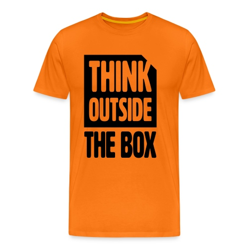 ThinkOutsideTheBox - Männer Premium T-Shirt