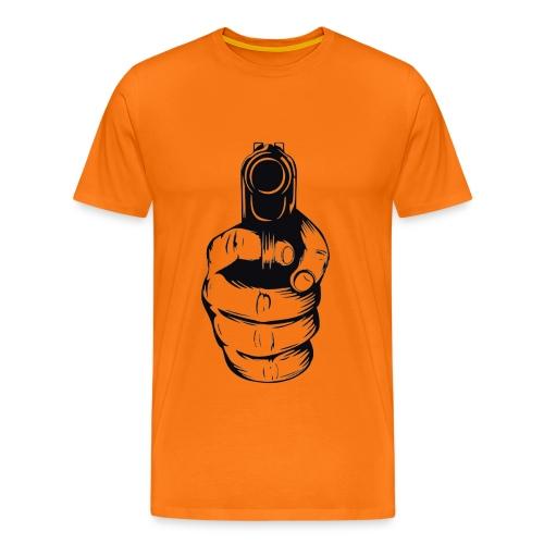 gun1 png - Men's Premium T-Shirt