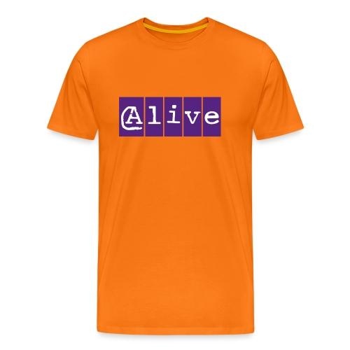 Alive - Mannen Premium T-shirt