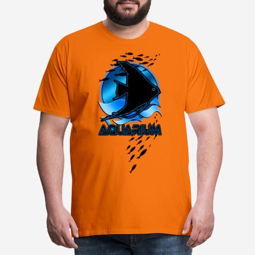 Fish aquarium keeper - Mannen Premium T-shirt