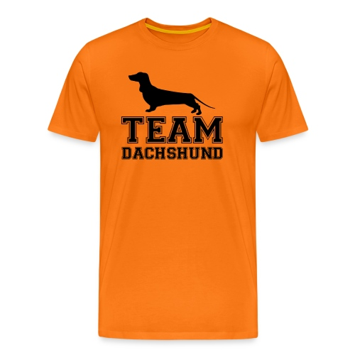 team-dachshund - Maglietta Premium da uomo