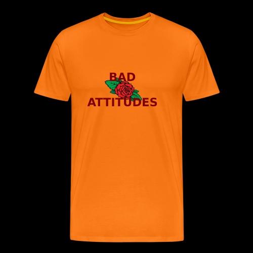 BAD ATTITUDES - Männer Premium T-Shirt