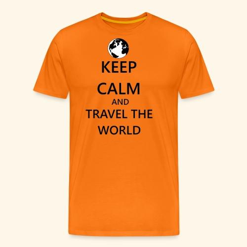 Travel the world - Men's Premium T-Shirt
