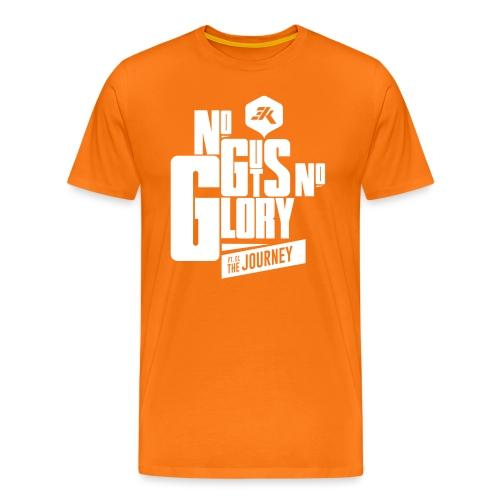 NGNG: WHITE / Red - Men's Premium T-Shirt