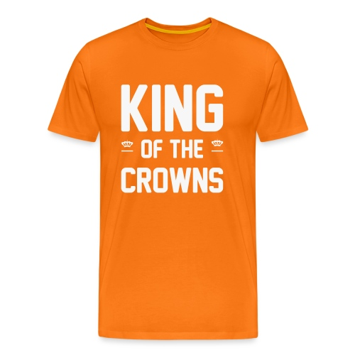 King of the crowns - Mannen Premium T-shirt