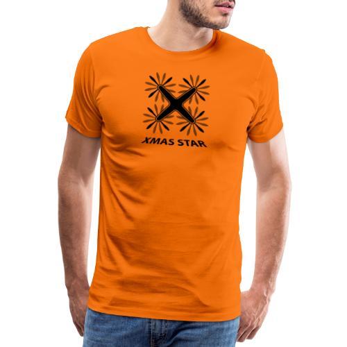 Nouvelle étoile de Noël - T-shirt Premium Homme