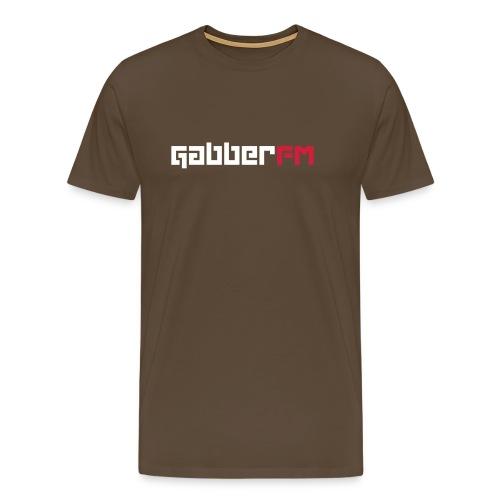 Gabber FM Letters - Men's Premium T-Shirt