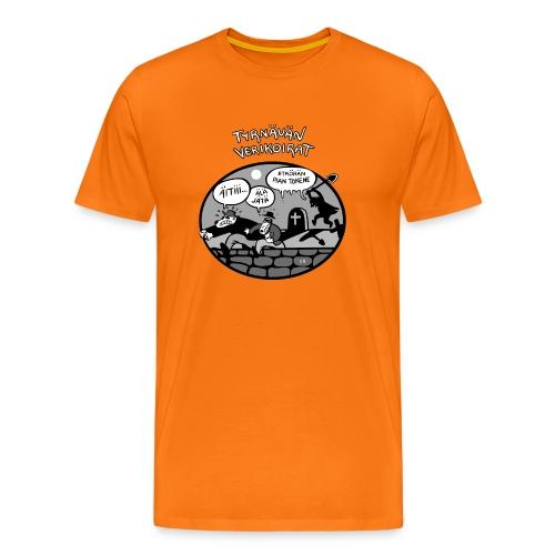 Tyrnävän Verikoirat 6 - Miesten premium t-paita