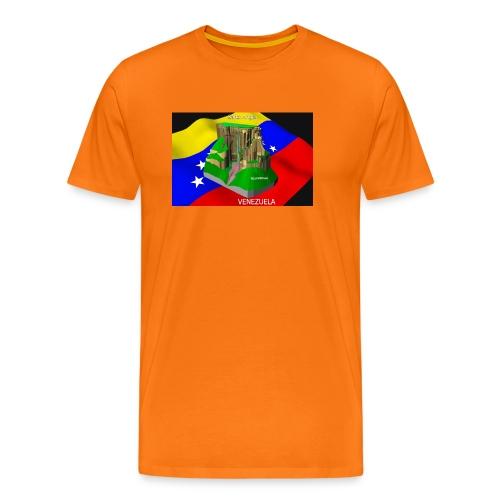 Salto Angel 3D - Camiseta premium hombre