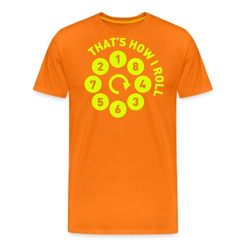 Rolling the V8 way - Autonaut.com - Men's Premium T-Shirt