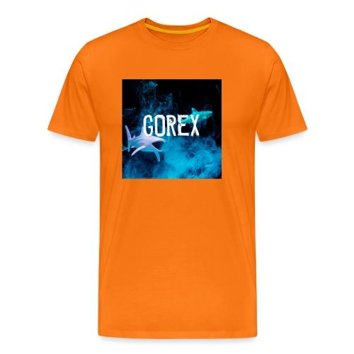 Logo GOREX con gli squali - Maglietta Premium da uomo