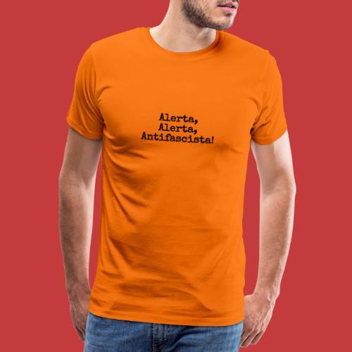 zeitGEIST-Statement Alerta - Männer Premium T-Shirt