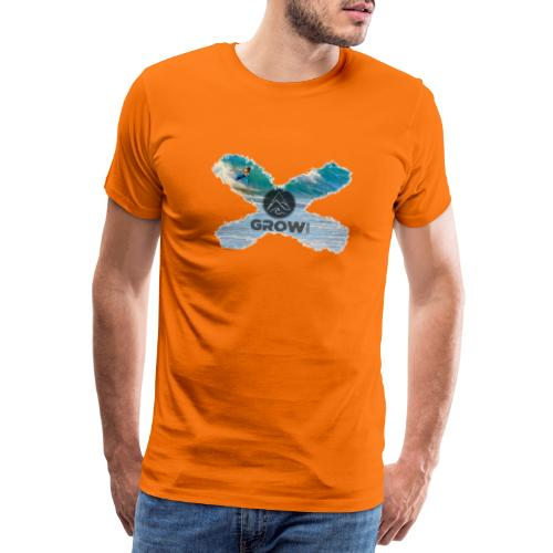 Grow Sports Surf X - Männer Premium T-Shirt